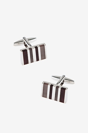 Executive Stripe Multicolor Cufflinks