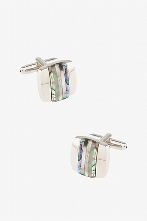 Hawking Striped Cufflinks