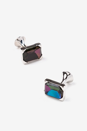 Iridescent Gem Cufflinks
