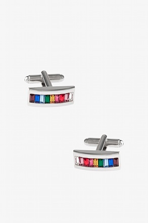 _Rainbow Bar Cufflinks_