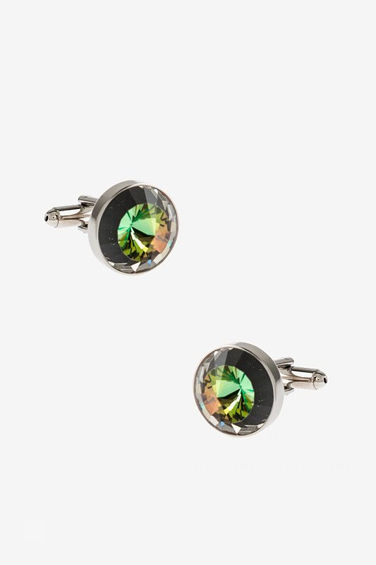 Rounded Peaks Multicolor Cufflinks Photo (0)