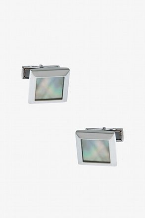 Solid Square Frame Cufflinks