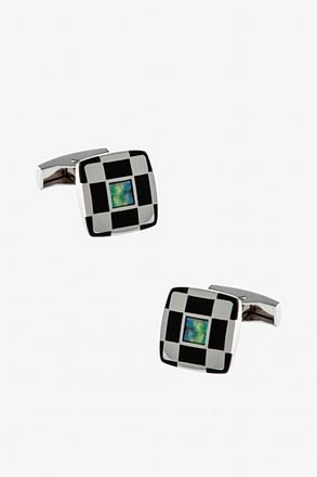 Stand Out Iridiscent Cufflinks
