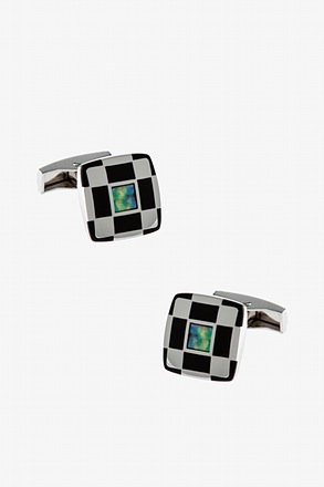 _Stand Out Iridiscent Cufflinks_