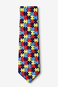 Autism Awareness Puzzle Tie Photo (1)