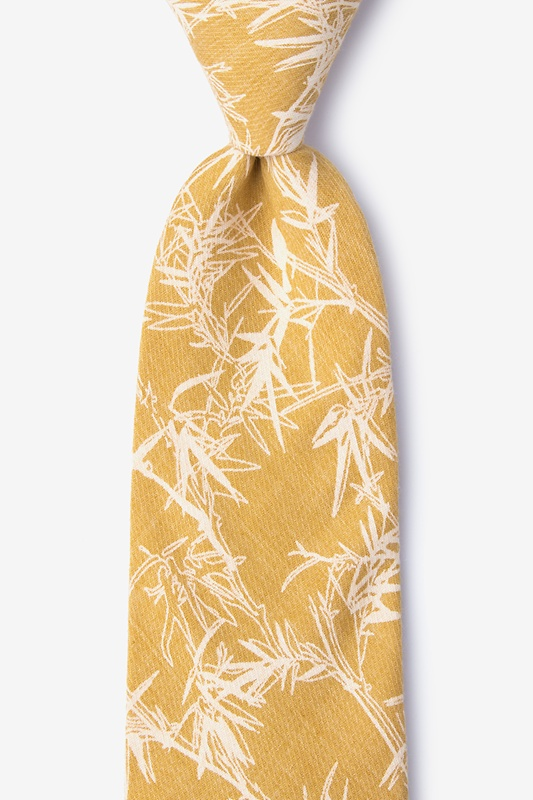 Ace Mustard Extra Long Tie Photo (0)