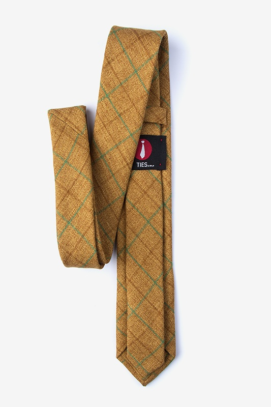 Harley Mustard Skinny Tie Photo (1)
