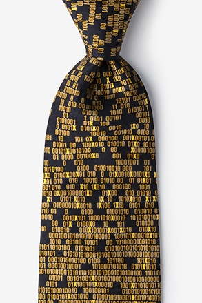 _My Doom Cyber Virus Tie_