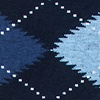 Navy Blue Carded Cotton Argyle Assassin