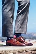 Dana Point Dots Sock