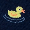 Navy Blue Carded Cotton Feelin' Ducky