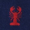 Navy Blue Carded Cotton Great Catch