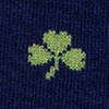 Shamrock Navy Blue Sock