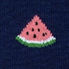 Navy Blue Carded Cotton One in a Melon