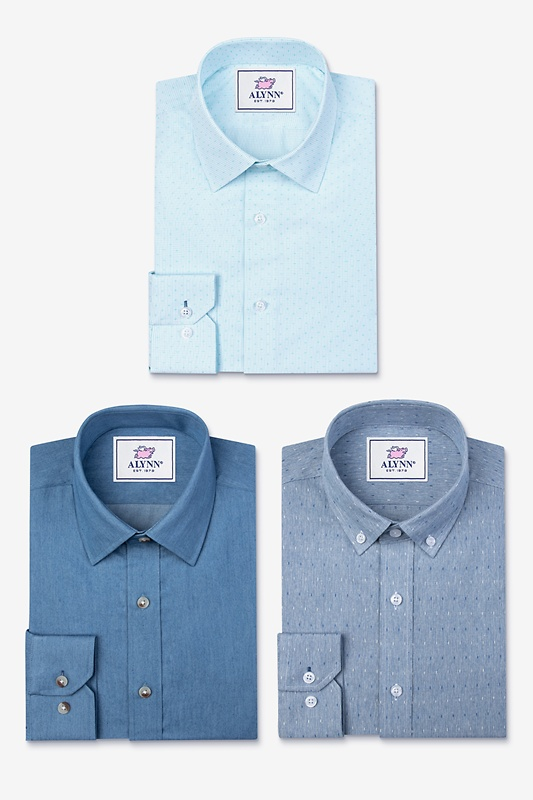 All Blue Everything Navy Blue Shirt Pack Photo (0)