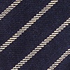 Navy Blue Cotton Arcola Extra Long Tie