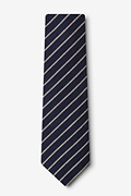 Arcola Navy Blue Extra Long Tie Photo (1)