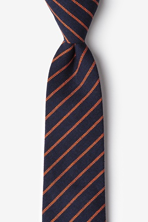 Arcola Navy Blue Extra Long Tie
