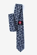 Biff Navy Blue Skinny Tie Photo (1)