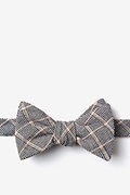Navy Blue Cotton Bisbee Butterfly Bow Tie