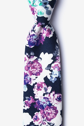 Carlisle Navy Blue Extra Long Tie