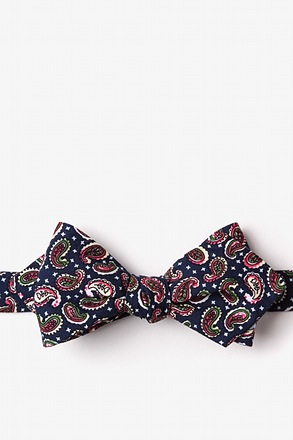 Cedar Hill Diamond Tip Bow Tie