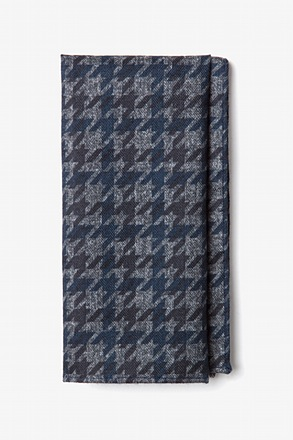 Chandler Navy Blue Pocket Square