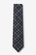 Chandler Navy Blue Skinny Tie Photo (1)