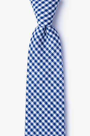 Chardon Navy Blue Extra Long Tie