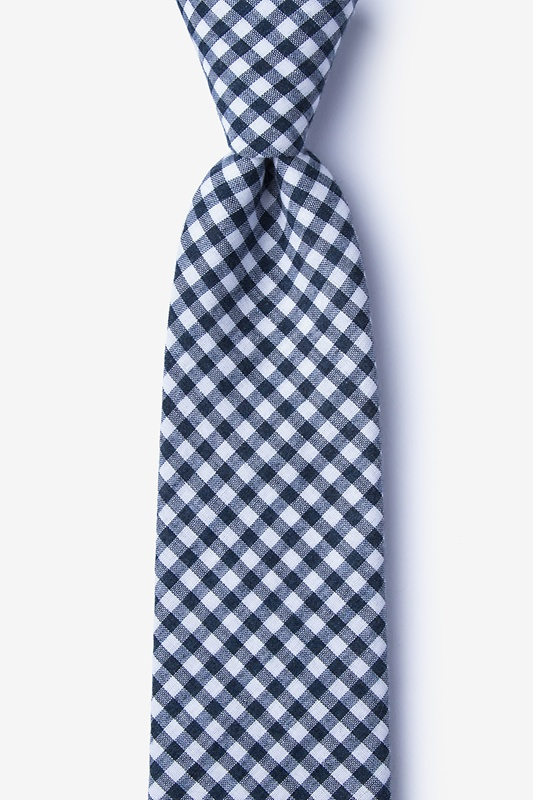 Clayton Navy Blue Tie Photo (0)