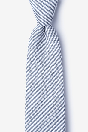 Clyde Navy Blue Extra Long Tie