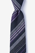 Navy Blue Cotton Cortland Extra Long Tie
