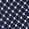 Navy Blue Cotton Descanso Bow Tie