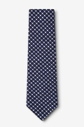 descanso Navy Blue Extra Long Tie