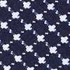 Navy Blue Cotton Descanso Skinny Tie