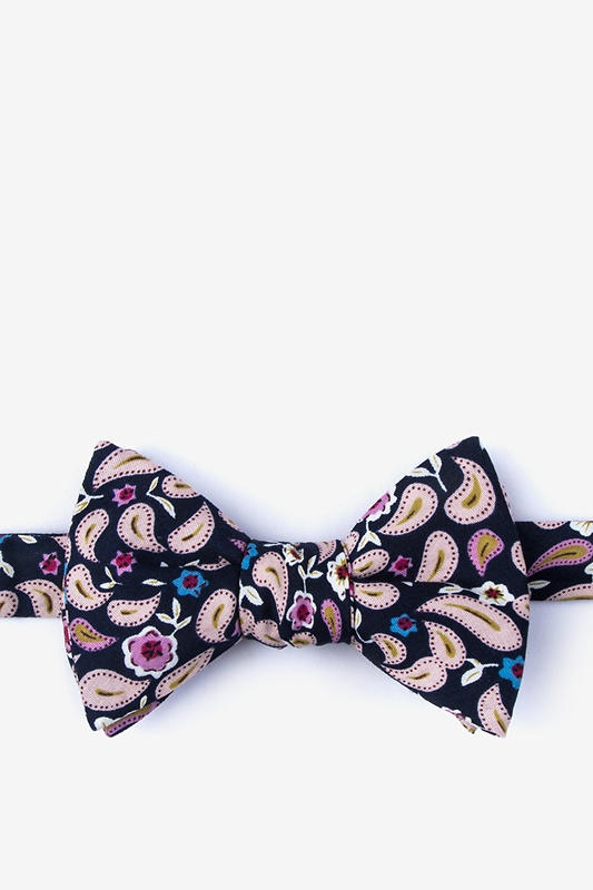 Diesel Navy Blue Self-Tie Bow Tie Photo (0)