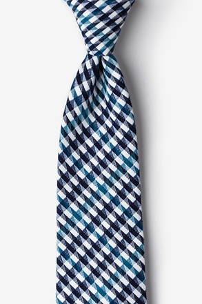 Encinitas Navy Blue Extra Long Tie