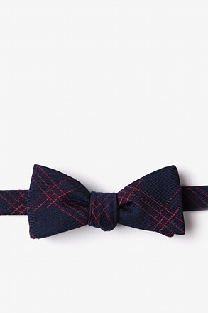 Escondido Navy Blue Skinny Bow Tie