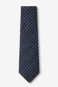 Glendale Navy Blue Extra Long Tie Photo (1)