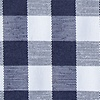 Navy Blue Cotton Heath Pocket Square
