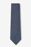 Holbrook Navy Blue Extra Long Tie Photo (1)