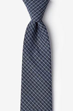 Holbrook Navy Blue Extra Long Tie