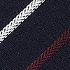 Navy Blue Cotton Houston Skinny Tie