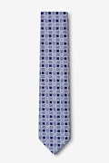 Jamaica Navy Blue Skinny Tie Photo (1)
