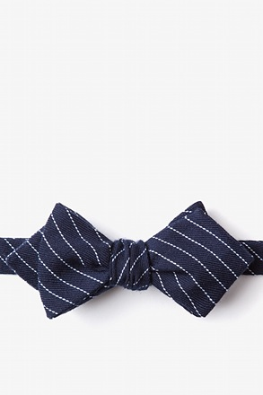 Lewisville Diamond Tip Bow Tie