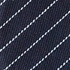 Navy Blue Cotton Lewisville Extra Long Tie