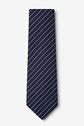 Lewisville Navy Blue Extra Long Tie Photo (1)