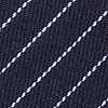Navy Blue Cotton Lewisville Skinny Tie