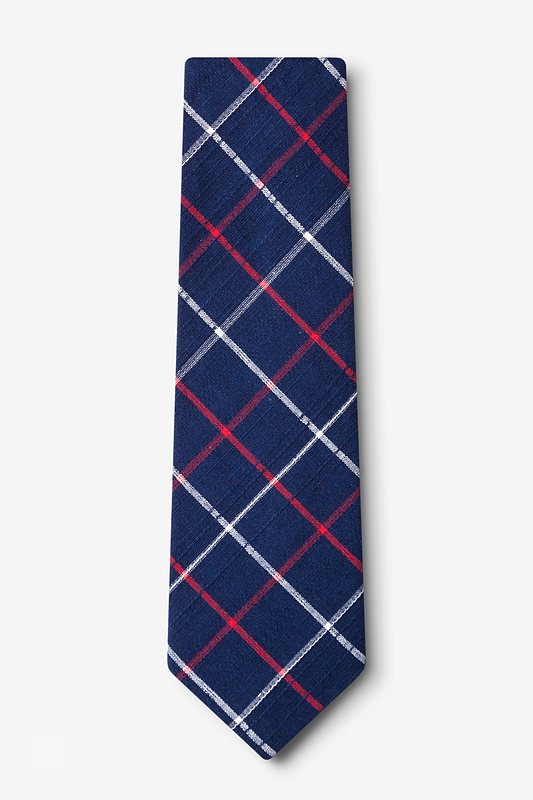Maricopa Navy Blue Extra Long Tie Photo (1)