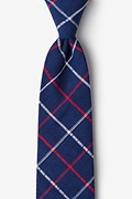 Maricopa Navy Blue Extra Long Tie Photo (0)